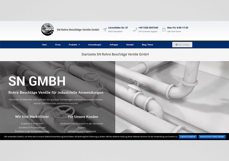 SN-GmbH-Website