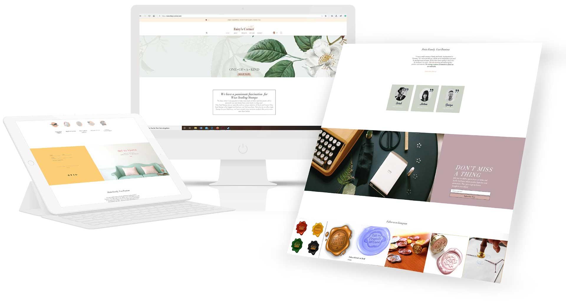 Webprojekt-Fairys-Corner