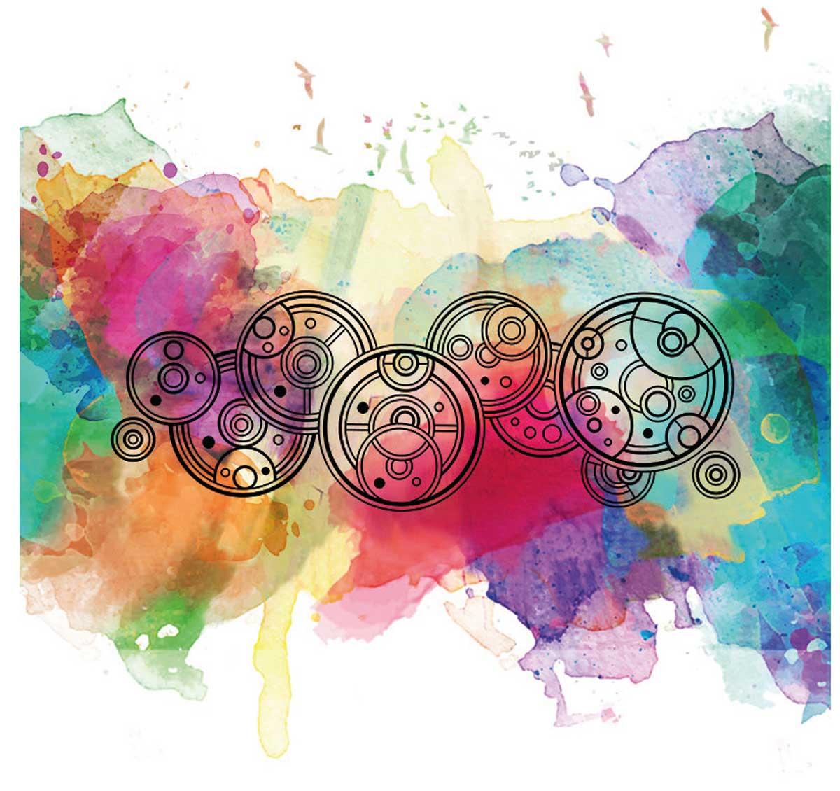 Illustration-Typografie-Aquarell